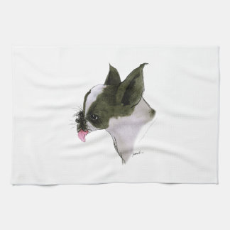 Boston Terrier, tony fernandes Towel