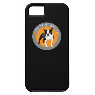 Boston terrier tough iPhone 5 case