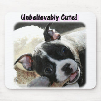 Boston Terrier:  Unbelievably Cute! Mouse Mat