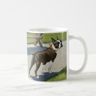 Boston Terrier Vintage Mug