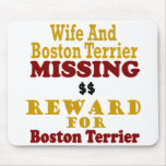 Boston Terrier & Wife Missing Reward For Boston Te