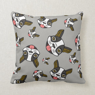 Boston Terriers #15 Throw Pillow