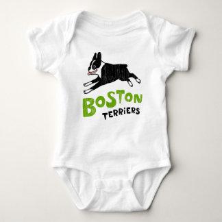 Boston Terriers Baby Bodysuit
