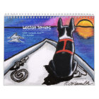 Boston Terriers Off-Leash Art™ Vol 1 Calendar