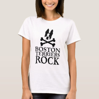 Boston Terriers Rock T-Shirt