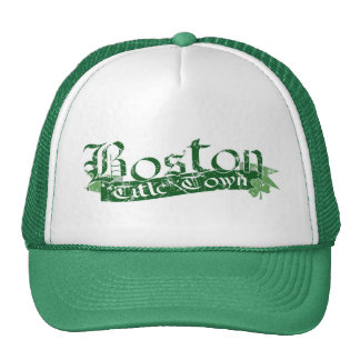 Boston Title Town Distressed Cap