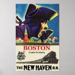 Boston Travel Poster