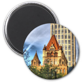 Boston Trinity Church Magnet