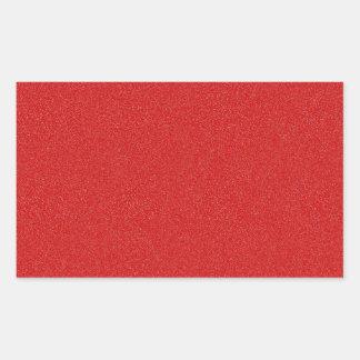 Boston University Red Star Dust Rectangular Sticker