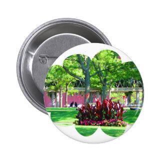 Boston USA America  Green Nature Photography 6 Cm Round Badge