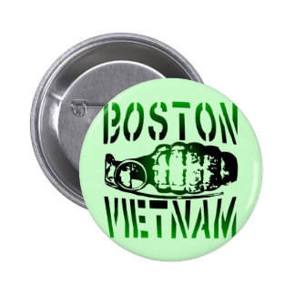 Boston Vietnam 6 Cm Round Badge