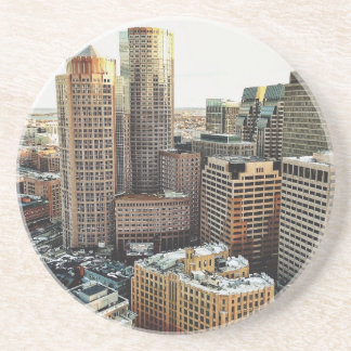 Boston view coasters