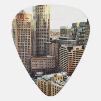 Boston view plectrum