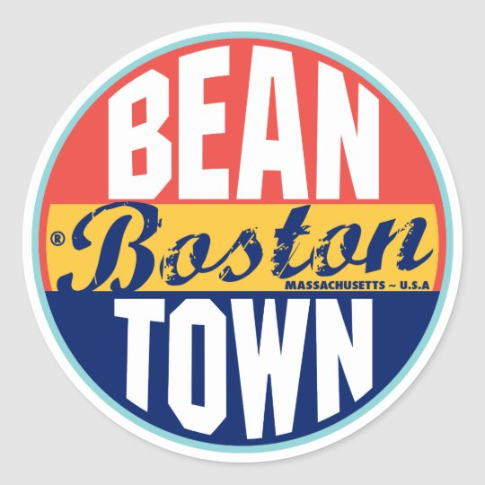 Boston Vintage Label
