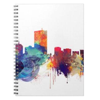 Boston watercolor skyline notebooks