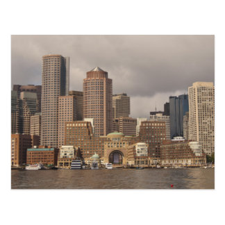 Boston Waterfront Postcard