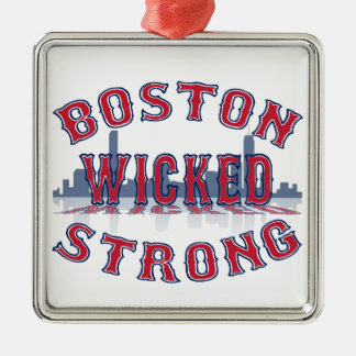 Boston Wicked Strong Christmas Ornament