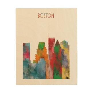 Boston Wood Wall Art
