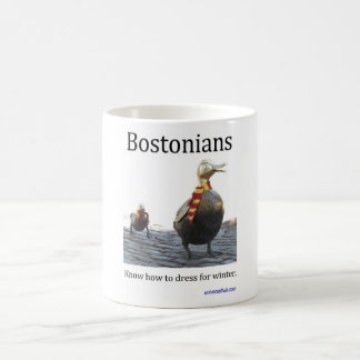 Bostonians know how to dress for winter mug