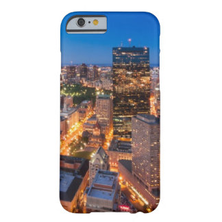 Boston's skyline at dusk barely there iPhone 6 case