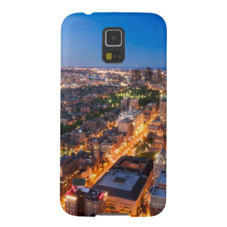 Boston's skyline at dusk cases for galaxy s5