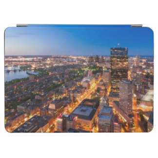 Boston's skyline at dusk iPad air cover