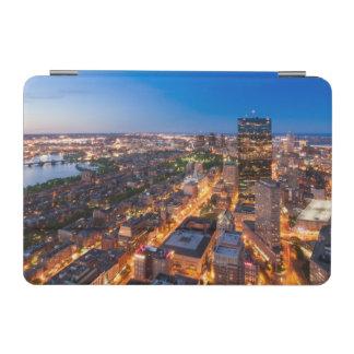 Boston's skyline at dusk iPad mini cover