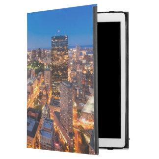 """Boston's skyline at dusk iPad pro 12.9"""" case"""