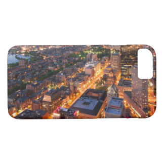 Boston's skyline at dusk iPhone 8/7 case