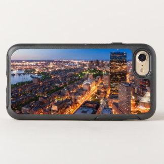 Boston's skyline at dusk OtterBox symmetry iPhone 8/7 case