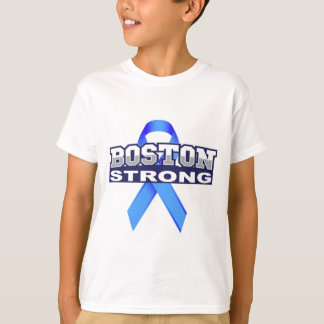BostonStrongwithRibbon.jpg T-Shirt