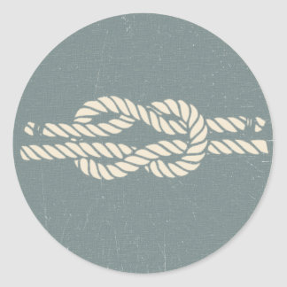 Bosun Jones' Knot Guide - The Witches Snatch Classic Round Sticker