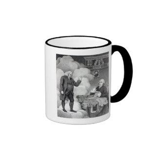 Boswell and the Ghost of Samuel Johnson Ringer Mug