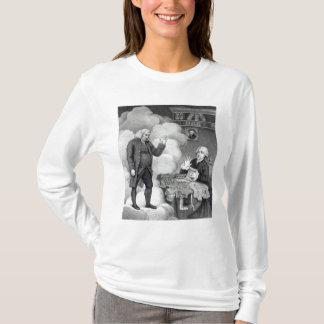 Boswell and the Ghost of Samuel Johnson T-Shirt