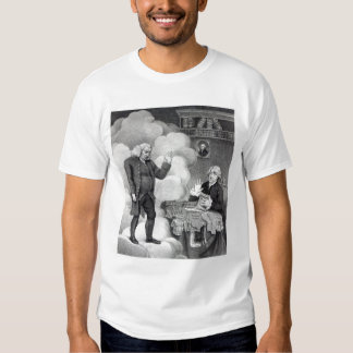 Boswell and the Ghost of Samuel Johnson T Shirt