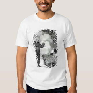 Boswell and the Ghost of Samuel Johnson Tee Shirt