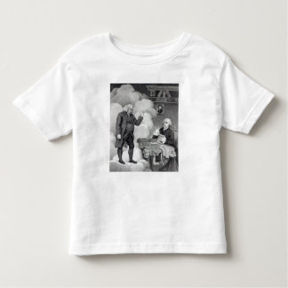 Boswell and the Ghost of Samuel Johnson Toddler T-Shirt