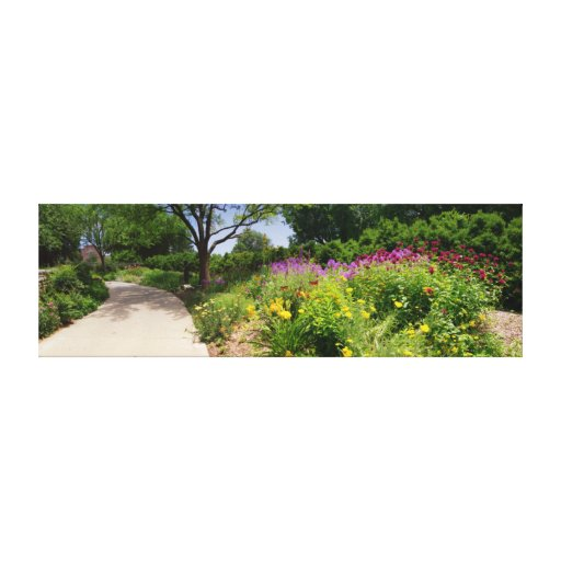 Botanica Gardens Shaded Path Canvas Prints