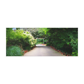 Botanica Gardens Shaded Path Gallery Wrapped Canvas