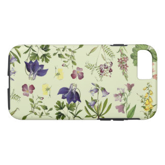 Botanical Alpine Flowers Floral iPhone 7 Case