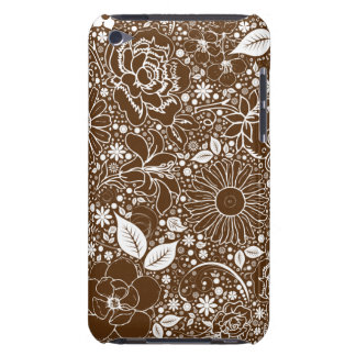 Botanical Beauties Brown iPod Touch 4g Case iPod Touch Cover