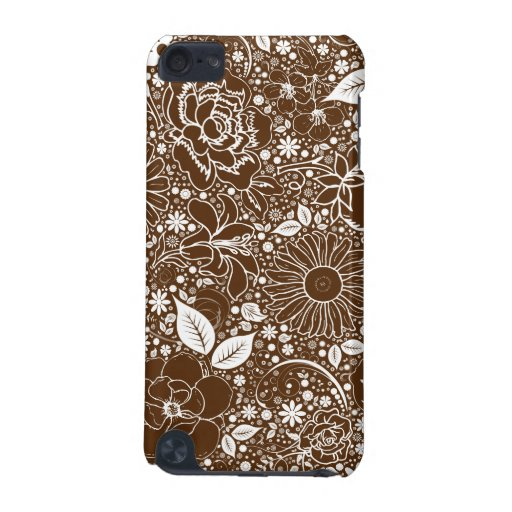 Botanical Beauties Brown iPod Touch 5g Case iPod Touch 5G Covers