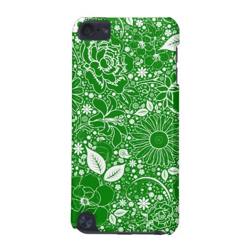 Botanical Beauties Green iPod Touch 5g iPod Touch (5th Generation) Cases