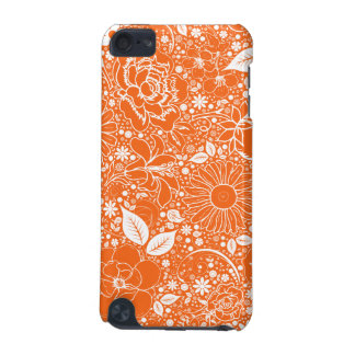Botanical Beauties Orange iPod Touch 5g iPod Touch (5th Generation) Case