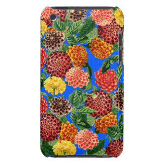 Botanical Dahlia Flowers Floral Case iPod Touch Covers