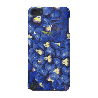 Botanical Delphinium Flowers Floral Case iPod Touch 5G Cover