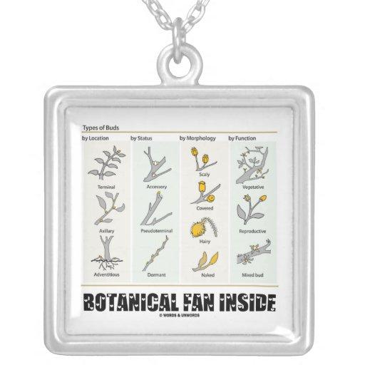 Botanical Fan Inside (Types Of Buds) Custom Jewelry
