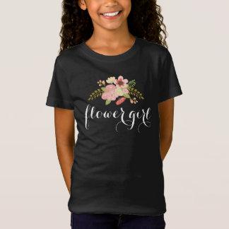 Botanical Flower Girl T-shirt