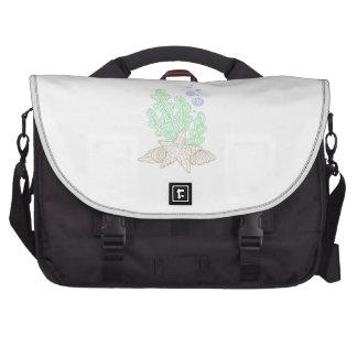 BOTANICAL FLOWER LAPTOP BAGS