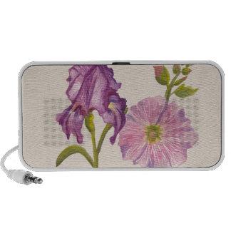 Botanical Flowers PC Speakers